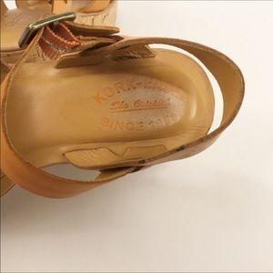 Kork-Ease Shoes - Kork Ease Ava Wedge Sandal Tan Sz 6/36.5